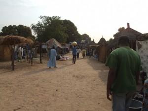 Wochenmarkt Senegal