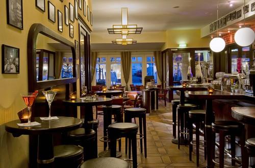 Die Hotelbar im Hotel Loev
