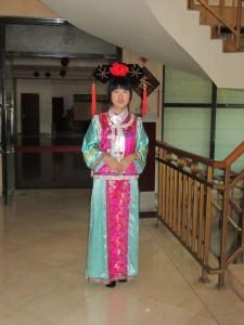 Verabschiedung im Hotel in Peking