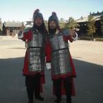 Luoyang, die einstige Hauptstadt Chinas am Ufer des Luohe