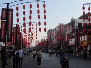 Einkaufsstraße Luoyang