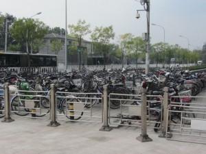 Fahrräder, ein beliebtes Verkehrsmittel