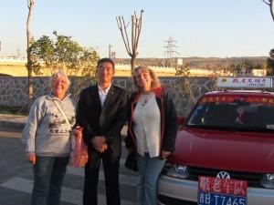 unser Tagesbegleiter und Fahrer Guo Yong