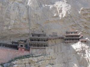 das Hängende Kloster am Berge Hengshan