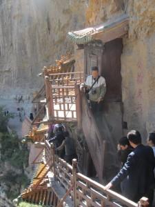 schmale Treppen und Stege