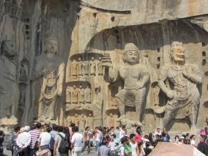 eindrucksvolle Statuen