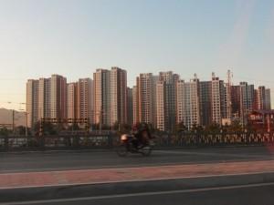 der Stadtrand von Datong