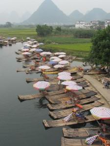 Bambusboote