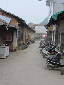 chinesisches Dorf