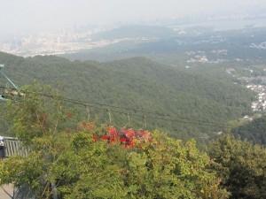 Blick vom Gao-Gipfel