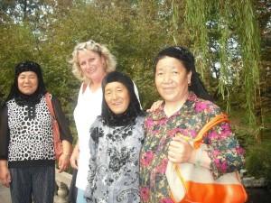 eine Reisegruppe aus Xinjiang?