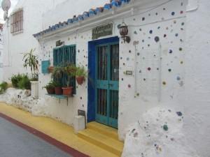 die weißen Häuser von Andalusien