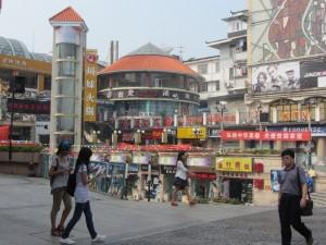 Einkaufsstraße in Guilin