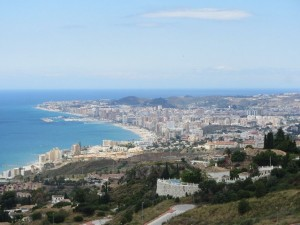 Blick auf Fuengirola