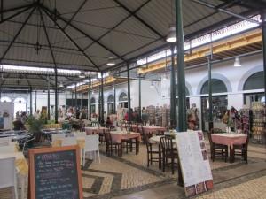 die ehemalige Markthalle