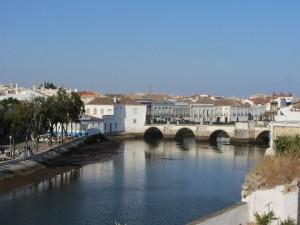 die römische Brücke in Tavira