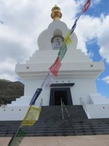 die Stupa von Benalmádena
