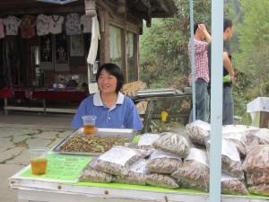 Teeverkauf