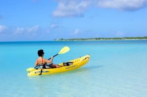 Kajak und Wassersportarten auf den Bahamas