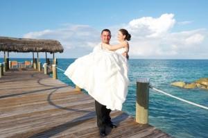 Flitterwochen auf den Bahamas