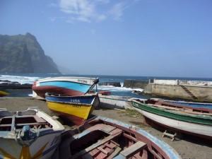 Fischerboote auf Santo Antao