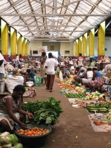 Markt in Cidade de Sao Tome