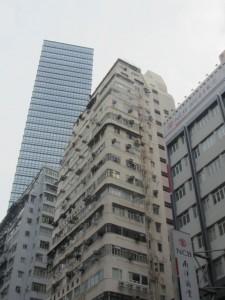 in den Straßen von Hongkong