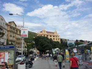 Promenade in Opatija
