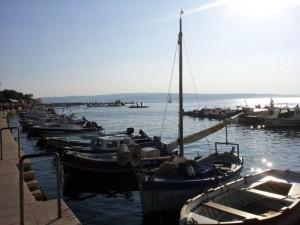Promenade in Selce Kroatien