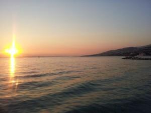 Sonnenuntergang Kvarner Bucht Kroatien