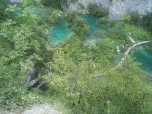 Wanderwege im Nationalpark Plitvice