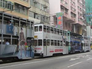 Ding Ding-Tramway in Hongkong