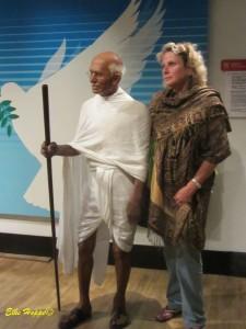 ein Plausch mit Gandhi