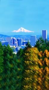 Portland und Mount Hood