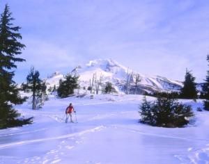 Skifahren in der Nähe von Portland