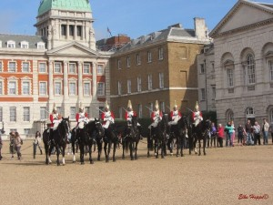 Reitergarde am Horse Guard Parade