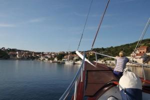 An Bord des Schiffes bei den Singlereisen Kroatien