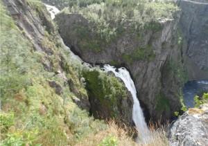 Der Vöringfossen-Wasserfall - Landausflug der FTI Berlin