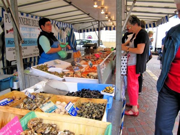 Fischmarkt Chinon