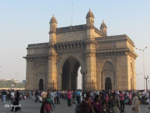 das Gateway of India in Mumbai