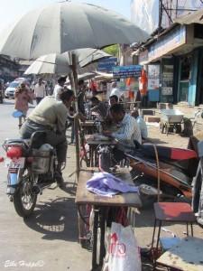 Schneiderhandwerk in Indien
