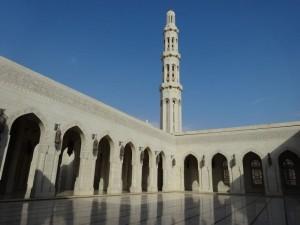 Maskat Sultan Qabos Moschee