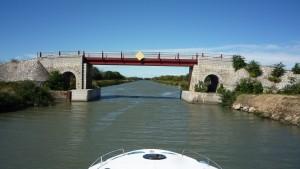 Kanal Brücke Port-Cassafiéres