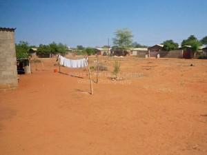 Das Grundstück, für das Walter Ndlovu so Ehrgeizige Pläne hat.