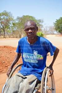 Walter Ndlovu, Nationaltrainer der Rollstuhl-Basketballfrauen in Zimbabwe