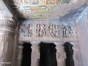 Höhle Nummer 2 in Ajanta