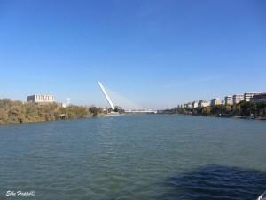 das Expo Gelände am Ufer des Guadalquivir