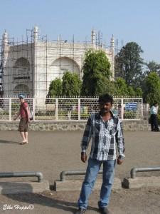 Shaikh, mein Fahrer in Aurangabad