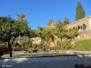 die Gärten der Alcazába