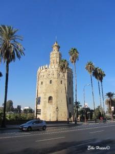 der goldene Turm von Sevilla